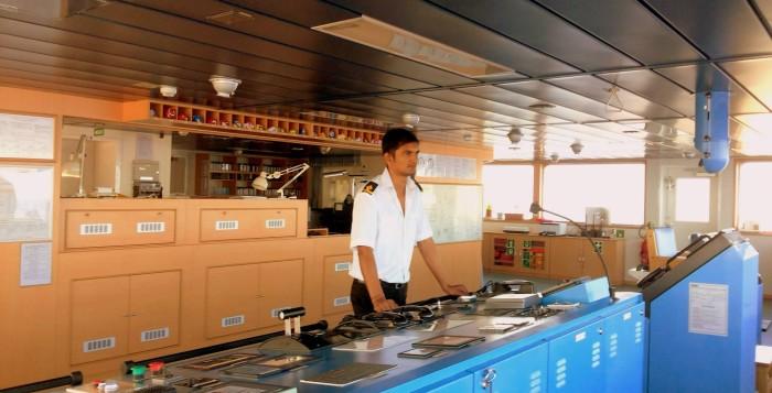 Kunal Merchant Navy officer
