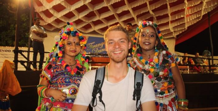 Yannick Rogge traveler backpacker
