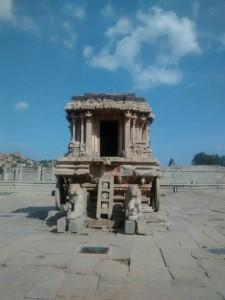 Vittala temple chariot temple)