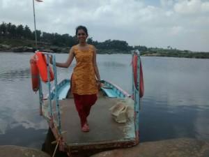 Priya Ravinder Tungabhadra river ferry