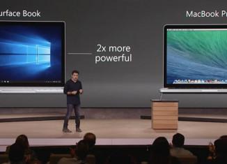 surface book vs mac book pro