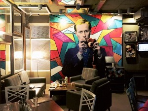 best pop arts in cafes