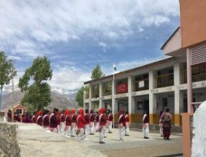 School in remote place in spiti valley amid mountains best school in the world