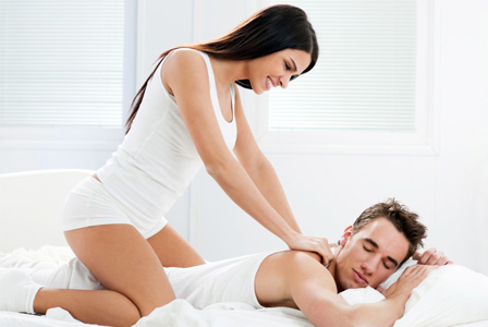 Image result for girls giving massage