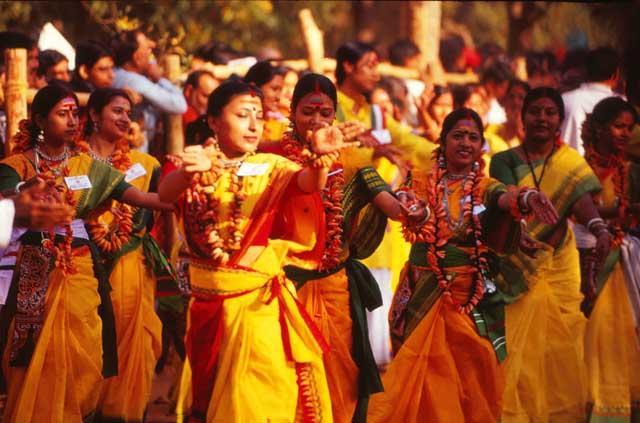 abeer. Basanta Utsab holi festival 2017