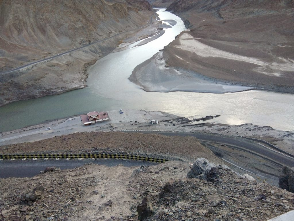 Stories of Leh devleena and her friends- Confluence Zanskar and Indus