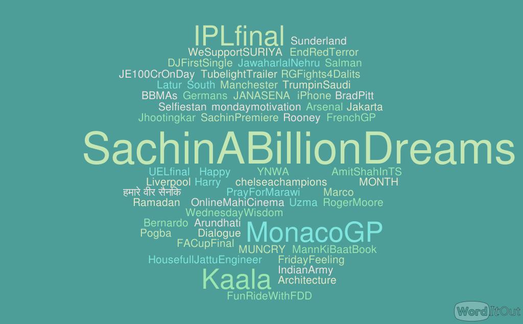 Manchester Suicide Bomber Salman Abedi's Sachin a billion dreams tweet trends