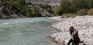 Beside River indus