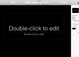 How To Change Slide Background In Mac's Keynote