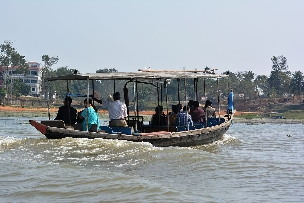 Boat to neer mahal