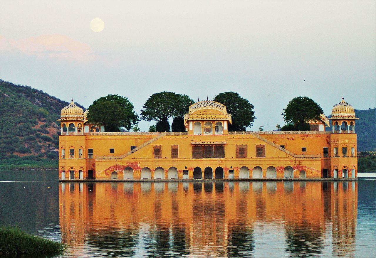 Jal Mahal, Jaipur - lake palace 1