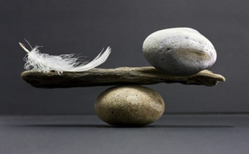 balance between love and power