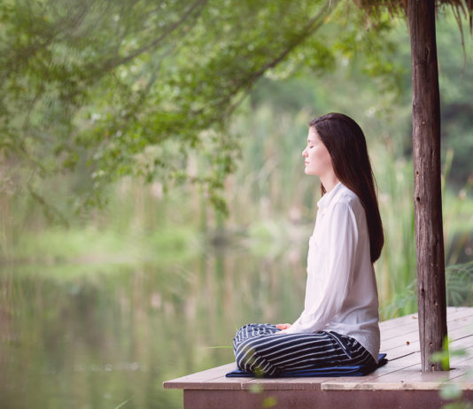 Vipassana a silent retreat